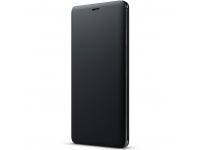 Husa Piele Sony Xperia XZ3, SCSH70, Neagra, Blister