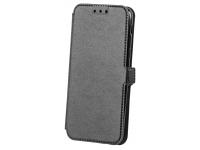 Husa Piele OEM Smart Pocket pentru Samsung Galaxy A6+ (2018) A605, Neagra, Bulk