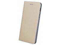 Husa Piele OEM Smart Venus pentru Samsung Galaxy J6 J600, Aurie, Bulk