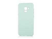 Husa TPU OEM Pure Silicone pentru Samsung Galaxy A6 (2018) A600, Verde, Blister