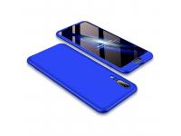 Husa Plastic OEM Full cover pentru Huawei P20, Albastra, Bulk