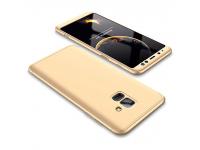 Husa Plastic OEM Full cover pentru Samsung Galaxy A6 (2018) A600, Aurie, Bulk
