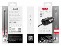 Incarcator Auto cu fir USB Tip-C XO Design 3.1A, 1 X USB, Negru, Blister