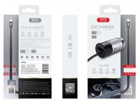 Incarcator Auto cu fir USB Tip-C XO Design 3.1A, 1 X USB, Argintiu, Blister