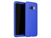 Husa Plastic OEM Full Cover pentru Samsung Galaxy S8 G950, Albastra, Bulk