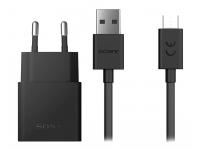 Incarcator Retea cu cablu MicroUSB Sony UCH12, Quick Charge, 1 X USB, Negru, Bulk