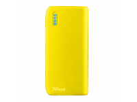 Baterie Externa Powerbank Trust Primo, Spring Edition, 4400 mA, 1 x USB, Galbena, Blister