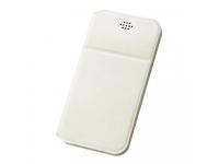 Husa Piele DUX DUCIS Every pentru Telefon 5.5 inci - 6 inci, Dimensiuni interioare 164 x 85 mm, Alba, Blister