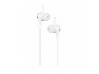 Handsfree Casti In-Ear HOCO Aparo M21, Cu microfon, 3.5 mm, Alb, Blister