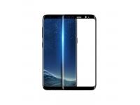 Folie Protectie Ecran HOCO pentru Samsung Galaxy S9+ G965, Sticla securizata, Full Face, Neagra, Blister