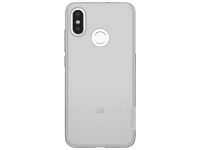 Husa TPU Nillkin Nature pentru Xiaomi Mi 8, Gri, Blister
