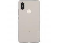 Husa TPU Nillkin Nature pentru Xiaomi Mi 8 SE, Gri, Blister