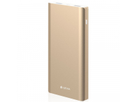 Baterie Externa Powerbank DEVIA KingKong Q.C 3.0 10000 mA, 2 x USB - MicroUSB, Aurie, Blister