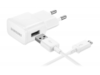 Incarcator Retea cu cablu MicroUSB Samsung EP-TA12EW, 1 X USB, Alb, Bulk