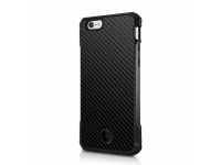 Husa TPU Itskins Atom Antisoc pentru Apple iPhone 6 / Apple iPhone 6s, Neagra, Blister AP6S-ATDLX-BLCK