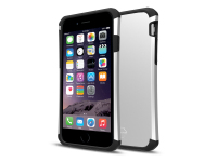 Husa TPU Itskins Evolution Antisoc pentru Apple iPhone 6s, Argintie - Neagra, Blister AP6S-EVLTN-SLBK