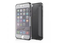Husa TPU Itskins Spectrum Antisoc pentru Apple iPhone 7, Neagra, Blister APH7-SPECM-BLCK