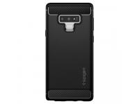 Husa TPU Spigen Rugged Armor pentru Samsung Galaxy Note9 N960, Neagra, Blister 599CS24572