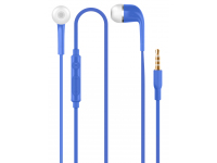 Handsfree Casti In-Ear OEM ZX-HD221, Cu microfon, 3.5 mm, Albastru, Blister