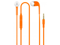 Handsfree Casti In-Ear OEM ZX-HD221, Cu microfon, 3.5 mm, Portocaliu, Blister