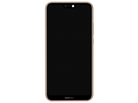 Display - Touchscreen Roz, Cu Rama Huawei P20 Lite