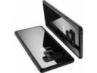 Husa Plastic Usams Mant pentru Samsung Galaxy Note9 N960, Neagra - Transparenta, Blister