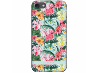 Husa Plastic SoSeven Hawai Flamingo pentru Apple iPhone 7 / Apple iPhone 8, Multicolor, Blister