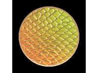 Suport Stand Adeziv Popsockets pentru telefon Iridescent Snake Golden Copper Blister