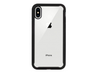 Husa Plastic X-One Dropguard pentru Apple iPhone XR, Neagra - Transparenta, Blister