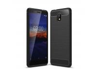 Husa TPU OEM Carbon pentru Nokia 3.1, Neagra, Bulk