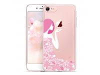 Husa TPU ESR Flower Girl pentru Apple iPhone 7 / Apple iPhone 8, Multicolor, Blister
