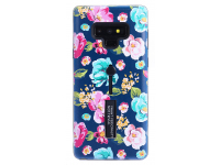 Husa Plastic - TPU OEM Chinese Rose pentru Samsung Galaxy Note9 N960, Multicolor, Bulk