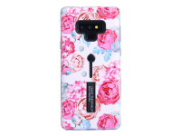Husa Plastic - TPU OEM Peony pentru Samsung Galaxy Note9 N960, Multicolor, Bulk