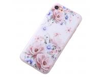 Husa TPU OEM Camellia pentru Apple iPhone 7 / Apple iPhone 8, Multicolor, Bulk