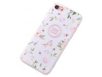 Husa TPU OEM Peach Blossom pentru Apple iPhone 7 / Apple iPhone 8, Multicolor, Bulk
