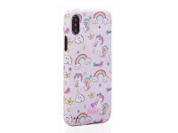 Husa Plastic Full Cover Kutis Unicorn KH-8 pentru Apple iPhone X / Apple iPhone XS, Multicolor, Blister
