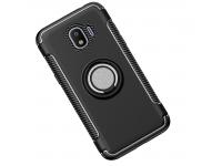 Husa TPU OEM Magnetic 360 pentru Samsung Galaxy J4 J400, Neagra, Bulk
