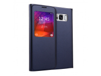 Husa Piele OEM Litchi View Samsung Galaxy S8 G950, Bleumarin, Bulk