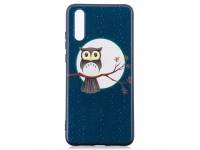 Husa TPU OEM Owl Under the Moon Huawei P20, Multicolor, Bulk
