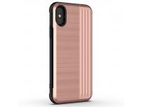Husa Plastic - TPU OEM Angibabe pentru Apple iPhone X / Apple iPhone XS, Aurie, Bulk