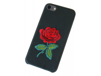 Husa OEM Blooming Rose pentru Apple iPhone 8 / Apple iPhone 7, Multicolor, Bulk