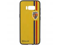 Husa TPU Tellur cu spate din sticla pentru Samsung Galaxy S8 G950, Tricolor, Multicolor, Blister FRF000032