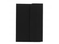 Husa Piele OEM cu tastatura Bluetooth 3.0 pentru Tableta 7 inci - 8 inci, Dimensiuni interioare 200 x 132 mm, Neagra, Blister