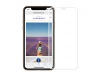 Folie Protectie Ecran Mofi pentru Apple iPhone X / Apple iPhone XS, Sticla securizata, Full Face, Edge Glue, Explosion-Proof, Alba, Blister