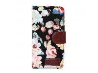 Husa Textil OEM Book Flower Samsung Galaxy S8 G950, Multicolor, Bulk