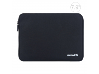 Husa Textil Haweel pentru Tableta 7.9 inci, Dimensiuni interioare 220 x 155 mm, Waterproof, Neagra, Bulk