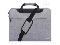 Husa textil laptop 15.6 inci Haweel Gri