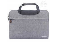 Husa textil laptop 13.3 inci Haweel Gri