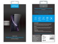 Folie Protectie Ecran Vonuo pentru Apple iPhone XR, Sticla securizata, Full Face, Neagra, Blister VO-090501021