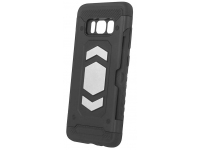 Husa Plastic - TPU OEM Defender pentru Apple iPhone XS Max, Neagra, Bulk